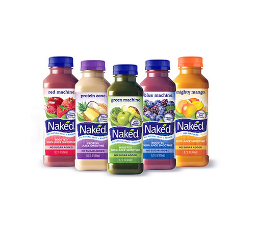 Naked fruit juices