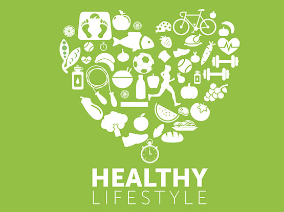 Healthly Lifestyle banner